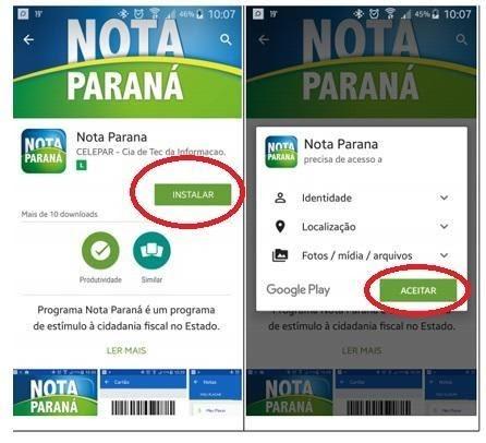 Como Resgatar Créditos Nota Paraná