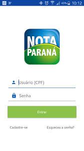 Posso Alterar A Conta Corrente Do Nota Paraná Pelo APP?